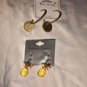 🆕 2 pair of earrings